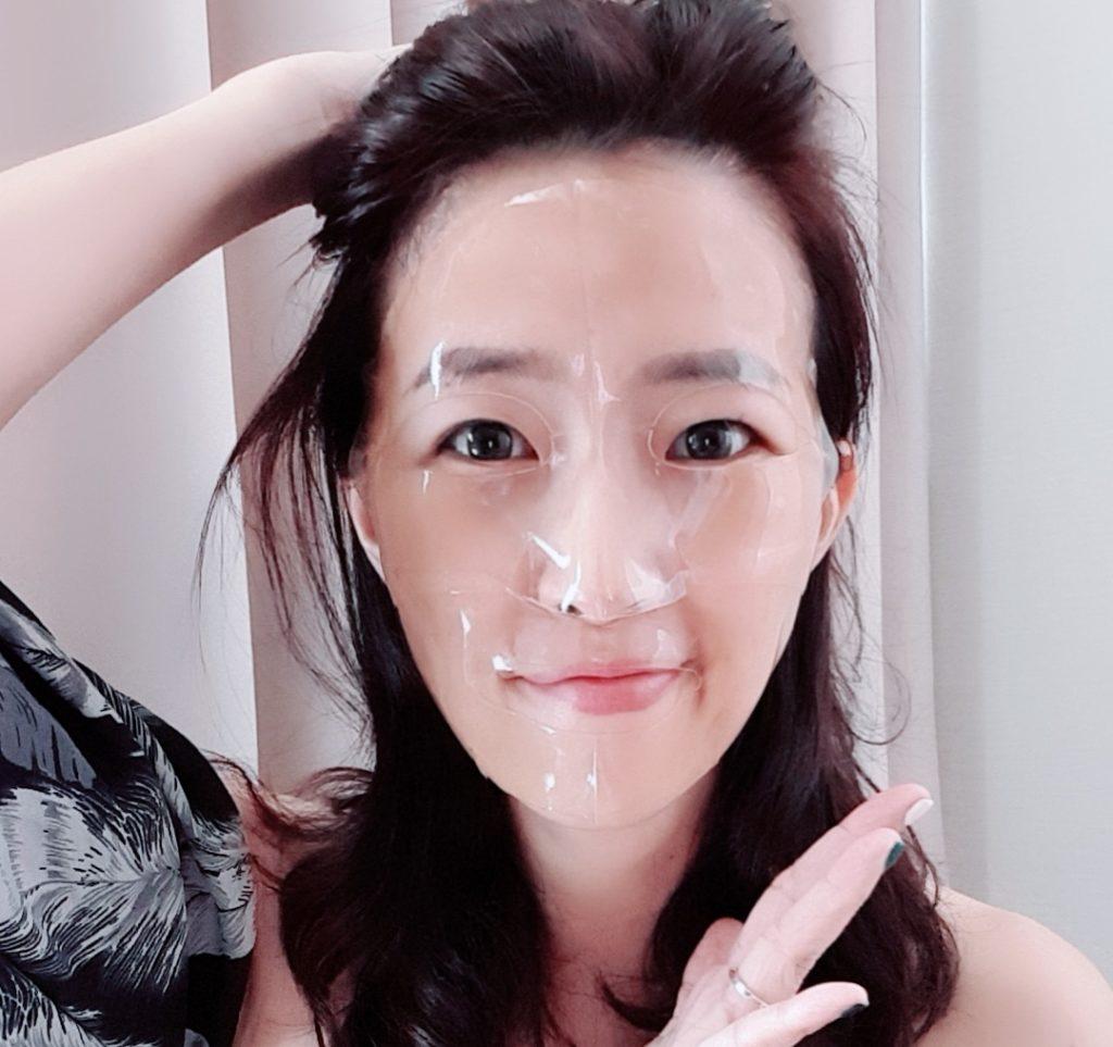 มาส์กโสมละลาย Korea Hydrogel Essence Mask
